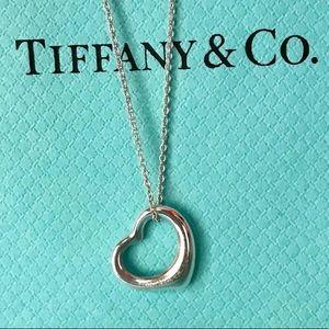 Tiffany & Co. Jewelry - SOLD! Tiffany & Co. Peretti Open Heart Necklace